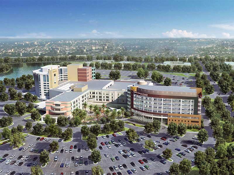 Golisano_Childrens_Hospital_Aerial_FKP_Architects_Rendering_2